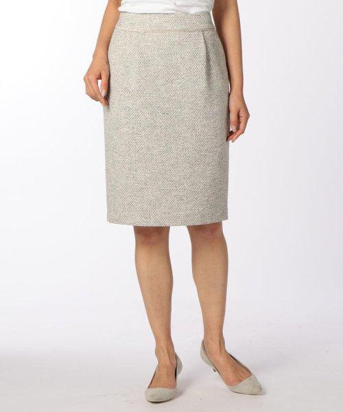 NOLLEY'S(ノーリーズ)/スラブカルゼツイードスカート/70055106002