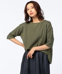 Rie Miller/ワッフルBIG Tシャツ/500384876
