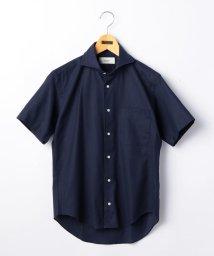 NOLLEY'S goodman/カラミ半袖カッタウェイシャツ/500385091