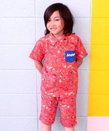 ANAP KIDS/アロハ柄シャツ+パンツ SET UP/500378817