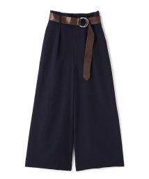 PROPORTION BODY DRESSING/《BLANCHIC》カラーダブルクロススリットワイドパンツ/500387300