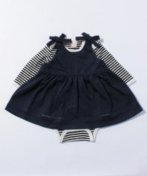 petit main/ロンパース&花柄ワンピセット/500378367