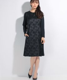 Leilian/カモフラ切替ワンピース/10255818N