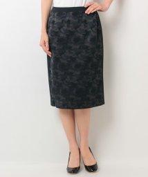 Leilian/カモフラタイトスカート  /10255820N