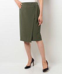 Leilian/ラップタイトスカート  /10255857N