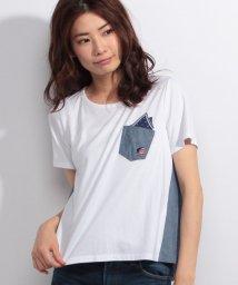 CARA O CRUZ/【特別提供品】配色カジュアルTシャツ/500385969