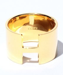 CLANE/WIDE PLATE RING GOLD/500379028