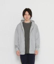 URBAN RESEARCH/【SENSEOFPLACE】エクストラルーズZIPパーカー/500381367