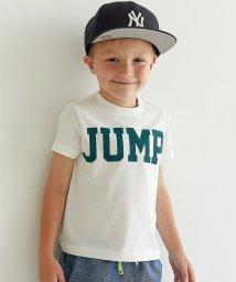 green label relaxing (Kids)/JUMPプリント Tシャツ ショートスリーブ/500390432
