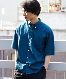 green label relaxing/CM OX BIG/S ボタンダウン-N S/S 半袖 シャツ/500396494