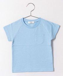 KOE/クルーネック半袖ポケットTシャツ/500240580