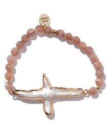 nano・universe/pearl cross bracelet/500386319