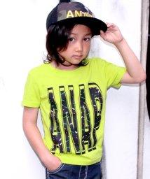 ANAP KIDS/ネオン柄ロゴTシャツ/500382794