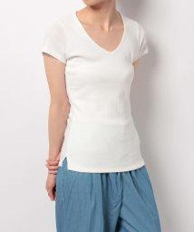 ROYAL PARTY/定番V開き前2重半袖Tシャツ/500385867