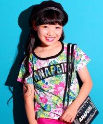 ANAP GiRL/ボタニカル柄ロゴTシャツ/500392936