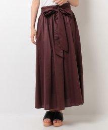 ELLE/【セットアップ対応商品】リボン付きロングスカート/500393181