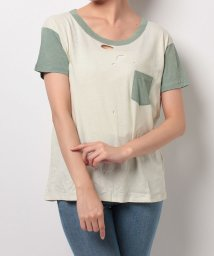 LEVI'S LADY/1960'S BOXY TEE MINT/THYME/500388728