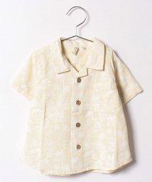 LAGOM/ヤシの木柄半袖シャツ/500394285