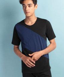 JUNRed/ドレープクレイジーTシャツ/500396776