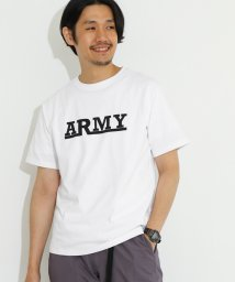 URBAN RESEARCH DOORS/ARMYプリントTシャツ/500401427
