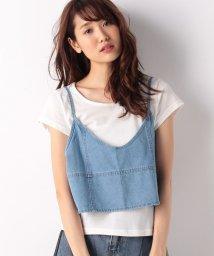 ANAP/Tシャツ+デニムキャミソール SET/500397658