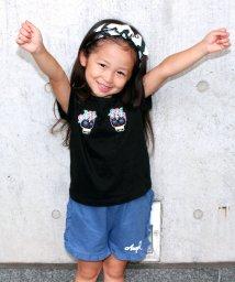 ANAP KIDS/カラベラ スカル刺繍Tシャツ/500400358