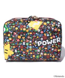 LeSportsac/EXTRA LARGE RECTANGULAR COSMETIC パワーアップバースト/LS0018716