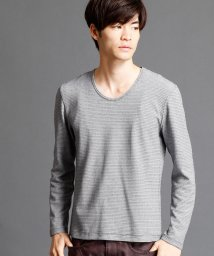 NICOLE CLUB FOR MEN/Uネックカットソー/500403257