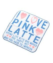 PINK-latte/ロゴプリントタオル/500407918