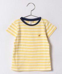 LAGOM/バナナ刺繍ボーダーTシャツ/500406984