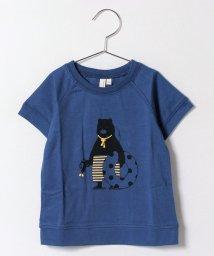 LAGOM/クマプリントTシャツ/500406985