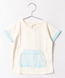 LAGOM/カンガルーポケット付Tシャツ/500406986