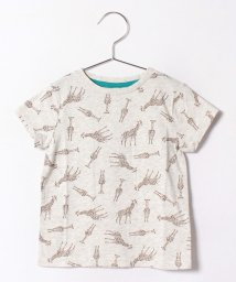 LAGOM/キリン総柄Tシャツ/500406988
