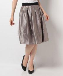 LANVIN en Bleu/シャイニーサテンスカート/LB0004040