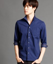 NICOLE CLUB FOR MEN/7分袖イタリアンカラーシャツ/500403255