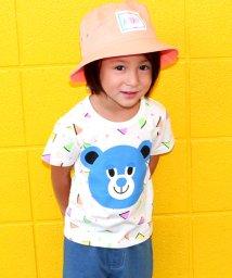 ANAP KIDS/三角柄くまTシャツ/500411290