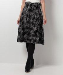 LAISSE PASSE/【MAGASEEK/d fashion限定】チェックスカート/500415562