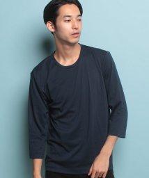 JUNRed/オータムポンチ6分袖Tシャツ/500416316