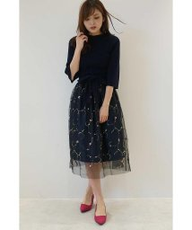 PROPORTION BODY DRESSING/ローズチュールセットアップ/500417735