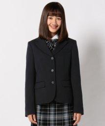 KUMIKYOKU KIDS/【PURETE】2/60 フレアーギャバ ジャケット (ウエストシェイプタイプ)/500419079