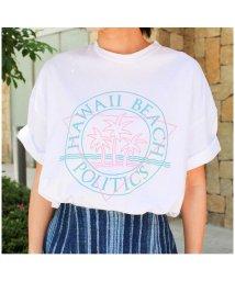 MODE ROBE/ハワイプリントTシャツ/500420153