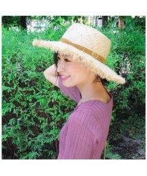 MODE ROBE/マスタードリボンベルト  フリンジカンカン帽/500420160