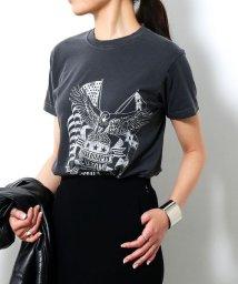 ROPE' mademoiselle/《予約》【ロペ マドモアゼル×AYA KANEKO】ヴィンテージプリントTシャツ/500425086