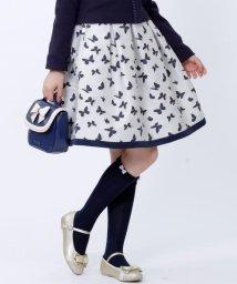 KUMIKYOKU KIDS/【SCHOOL】バタフライJQ スカート/500425460