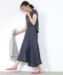 ROPE' mademoiselle/マキシジャージーワンピ/500419805