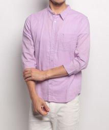 URBAN RESEARCH/【WAREHOUSE】綿麻7分袖ショートポイントカラーシャツ/500417000