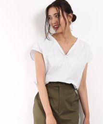 ROPE' mademoiselle/ストライプ2WAYノースリーブシャツ/500425788