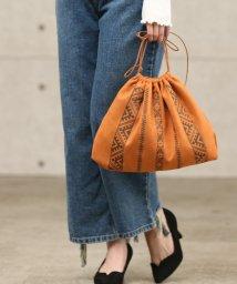 ViS/【WEB限定】【CASSELINI】エンブロイダリー巾着バッグ/500428465