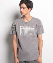 TOMMY HILFIGER MENS/ロゴプリントTシャツ/500415598
