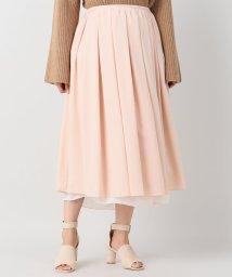 JOURNAL STANDARD/【08 SIRCUS/08サーカス】powdery strerch layered skirt:スカート/500430998